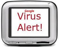 google virus warning